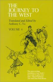 Cover of: The Journey to the West, Volume 4 | Anthony C. Yu