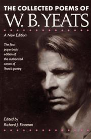 Cover of: Poems by William Butler Yeats