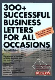 Cover of: 300+ Successful Business Letters for All Occasions by Alan Bond