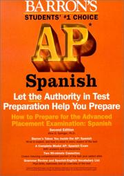Cover of: Barron's How to Prepare for the Ap | Alice G. Springer