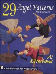 Cover of: 29 angel patterns for carvers | Al Streetman