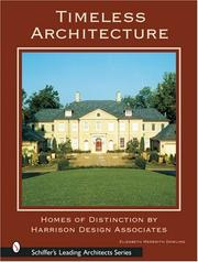 Cover of: Timeless Architecture by Elizabeth Meredith Dowling