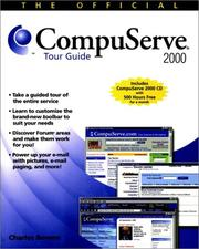 Cover of: The Official Compuserve 2000 Tour Guide by Charlie Bowen