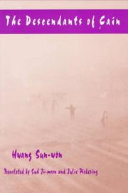 Cover of: The descendants of Cain | Hwang, Sun-wŏn