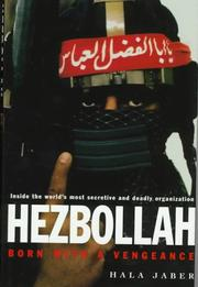Cover of: Hezbollah by Hala Jaber