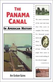 Cover of: The Panama Canal in American history by Ann Gaines