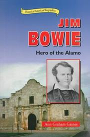 Cover of: Jim Bowie by Ann Gaines