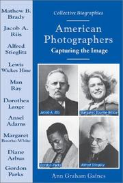 Cover of: American Photographers | Ann Gaines