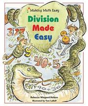Cover of: Division Made Easy | Rebecca Wingard-Nelson