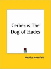 Cover of: Cerberus The Dog of Hades | Maurice Bloomfield