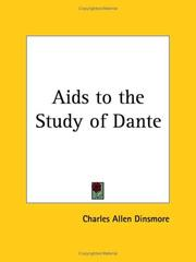 Cover of: Aids to the Study of Dante | Charles Allen Dinsmore