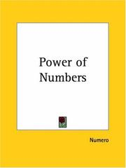 Cover of: Power of Numbers | Numero