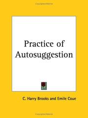 Cover of: Practice of Autosuggestion | Cyrus Harry Brooks