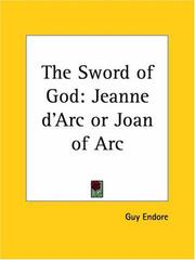 Cover of: The Sword of God | Guy Endore