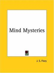 Cover of: Mind Mysteries | Flory, John Samuel