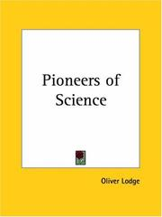 Cover of: Pioneers of Science | Oliver Lodge