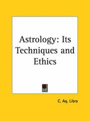 Cover of: Astrology | C. A. Libra