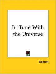 Cover of: In Tune with the Universe | Signpost
