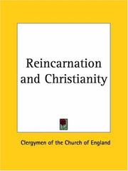 Cover of: Reincarnation and Christianity | Clergymen of the Church of England