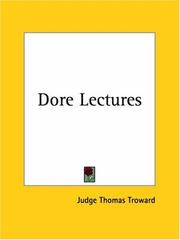 Cover of: Dore Lectures | Judge Thomas Troward