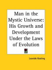 Cover of: Man in the Mystic Universe | Leonide Keating