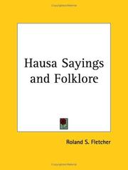 Cover of: Hausa Sayings and Folklore | Roland S. Fletcher