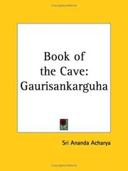 Cover of: Book of the Cave | Sri Ananda Acharya
