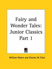 Cover of: Fairy and Wonder Tales | Charles W. Eliot