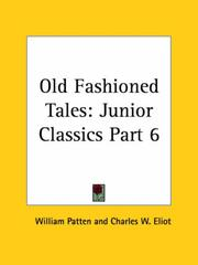Cover of: Old Fashioned Tales | Charles W. Eliot
