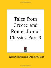 Cover of: Tales from Greece and Rome | Charles W. Eliot