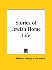 Cover of: Stories of Jewish Home Life | Salomon Hermann Mosenthal