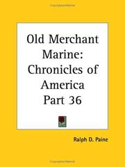 Cover of: Old Merchant Marine | Ralph Delahaye Paine