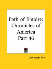 Cover of: Path of Empire by Carl Russell Fish