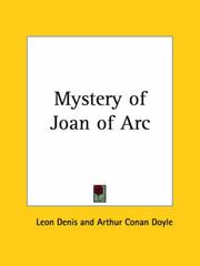 Cover of: The mystery of Joan of Arc | Léon Denis