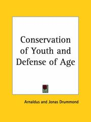 Cover of: Conservation of Youth and Defense of Age | Arnaldus