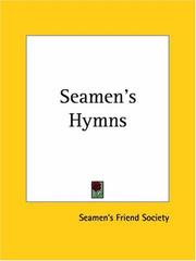 Cover of: Seamen's Hymns | Seamen's Friend Society