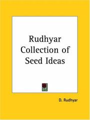 Cover of: Rudhyar Collection of Seed Ideas | Dane Rudhyar
