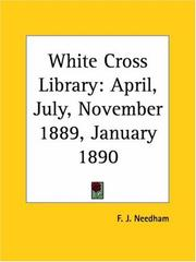 Cover of: White Cross Library | F. J. Needham