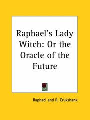 Cover of: Raphael's Lady Witch by R. Crukshank