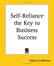 self reliance and self improvement is the key to success essay Read chapter self-confidence and performance: self-confidence by ensuring performance success that a performance slump, especially by a key.