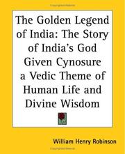 Cover of: The Golden Legend Of India | William Henry Robinson