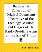Cover of: Barddas | J. Williams Ab Ithel