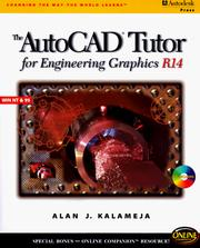 Cover of: AutoCAD Tutor for Engineering Graphics R14 Windows | Alan Kalameja