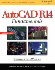 Cover of: AutoCAD R14 Fundamentals | Knowledge Works