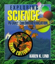 Cover of: Exploring Science in Early Childhood | Karen K. Lind