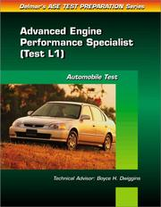 Cover of: ASE Test Prep Series -- (L1) by Delmar Publishers
