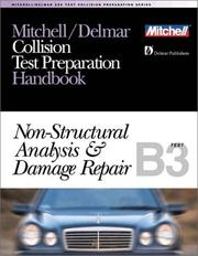 Cover of: ASE Test Prep Series -- Collision Repair/Refinish (B3) | Delmar Publishers