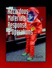 Cover of: Hazardous Materials Response & Operations (Fire Science Series) | Christopher David Hawley