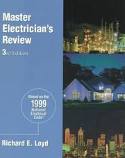 Cover of: Master Electrician's Review | Richard Loyd