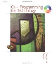 Cover of: C++ programming for technology by Dave Cooper